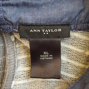 Ann Taylor Tops - Sweater and collared shirt Ann Taylor top